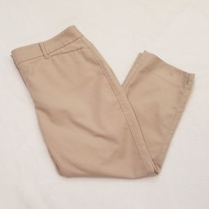 WHBM Perfect Form Straight Crop Pants